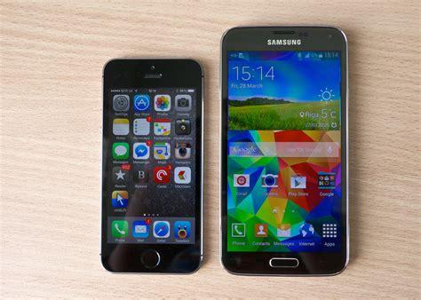 iphone 5s vs galaxy s5 samsung galaxy s5 vs iphone 5s kārlis dambrāns flickr