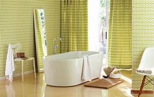 Tapisserie 4 Murs : tapisserie salle de bain 4 murs ~ Zukunftsfamilie.com Idées de Décoration