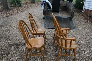 bow back solid oak chairs for sale antiques