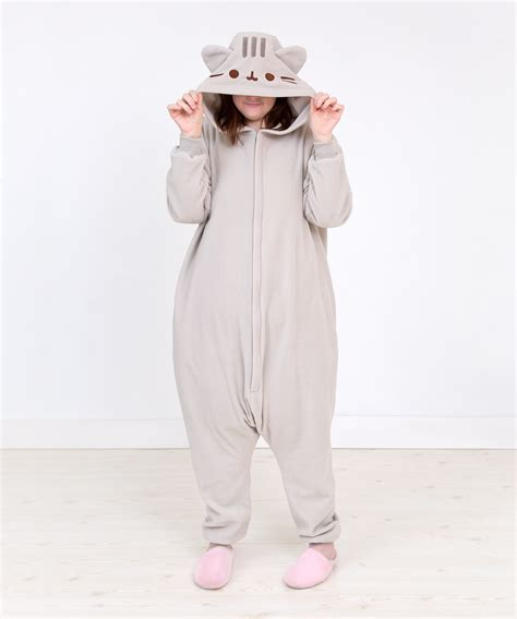 pusheen unisex kigurumi costume pusheen shop