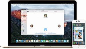 use airdrop to send content from your mac apple support With documents iphone mac