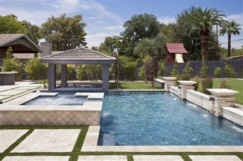 custom features presidential pools spas patio of arizona