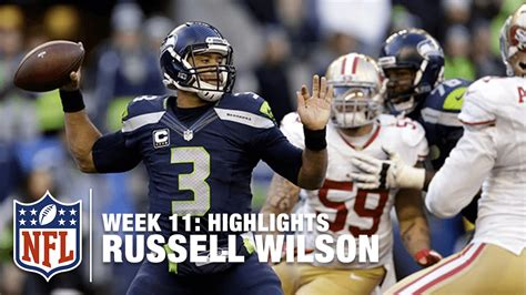 russell wilson highlight week  ers  seahawks