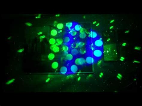 home light show wall projection youtube
