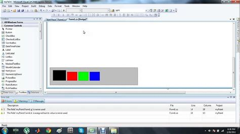 How To Make Your Own Application by How To Make Your Own Paint Application In C Tutorial 2