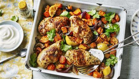bbc food recipes ras el hanout baked chicken