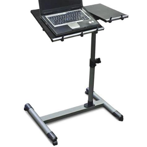 rolling laptop desk adjustable wood adjustable rolling computer laptop desk computer desk