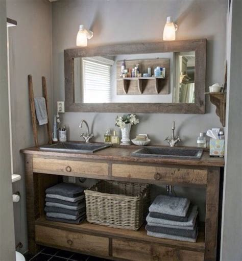 25 best ideas about small rustic bathrooms on pinterest