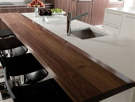 Create The Look Wood Mode White Kitchen Walnut Veneer