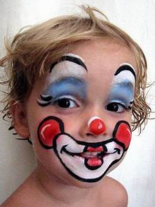 Maquillage Halloween Garcon : maquillage enfant clown murs d 39 eau pinterest ~ Melissatoandfro.com Idées de Décoration