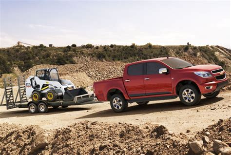 Towing Capacity Of Chevy Colorado