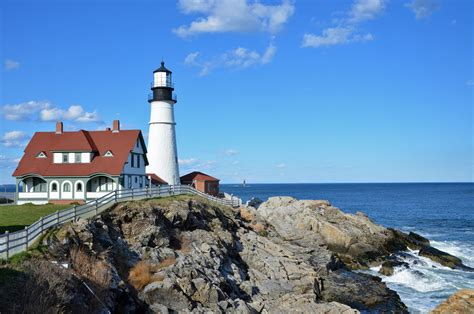 most lighthouse visit 6 lighthouses near portland maine