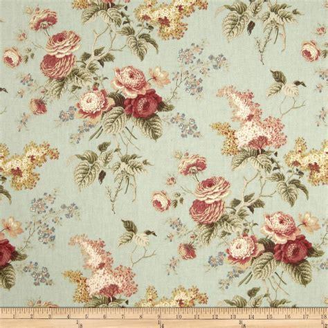 Waverly Emma's Garden Mist   Discount Designer Fabric