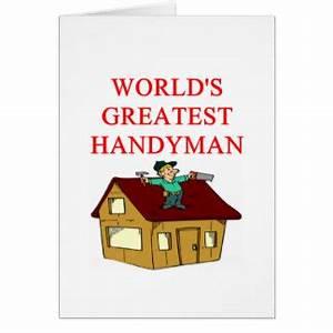 Handyman Greeting Cards
