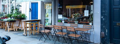 Our selection of commercial patio furniture is designed to withstand natural weathering of the elements including rain, snow, sun, and wind. 14 Coffee Shops With Outdoor Seating - London - The Infatuation