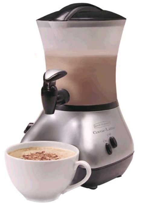 Buy Best Cheap Back to Basics CM300BR Cocoa Latte Chrome 32 Ounce Hot Drink Maker   Espresso