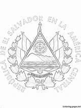 Peru Coloring Flag Pages Ecuador Getcolorings Panama Printable Arms Coat Ecuadorian sketch template