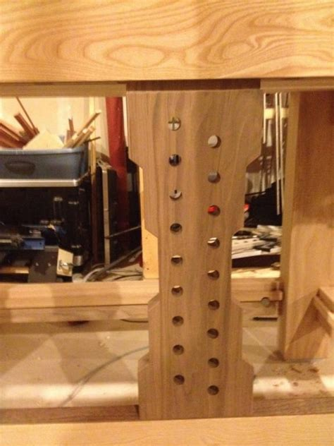 finished  split top roubo workbench  wood whisperer