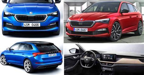 skoda scala hatchback officially unveiled