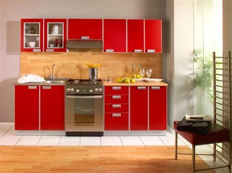 mobiliario de cocina rojo imagenes  fotos