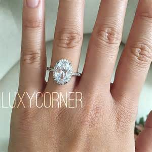 oval engagement ring thin band oval halo engagement ring oval engagement ring wedding ring