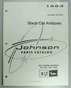 1963 Johnson Outboard Motor Parts Catalog 5 5 Hp Sea