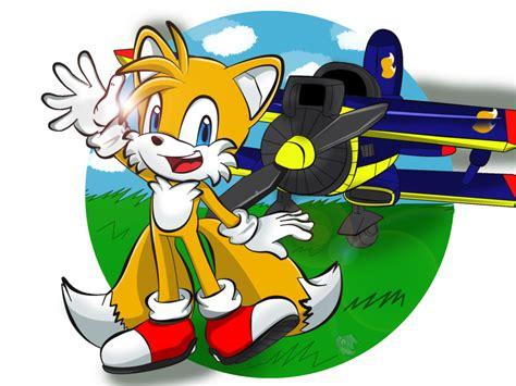 Sonic Hedgehog Tails Fox