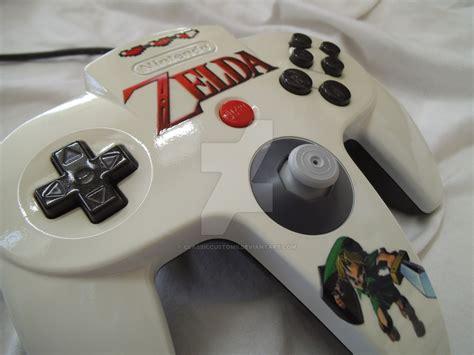 Custom Zelda Link Nintendo 64 Controller By Classiccustoms