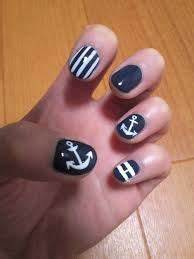 17 Best images about Nautical nails on Pinterest | Nail ...