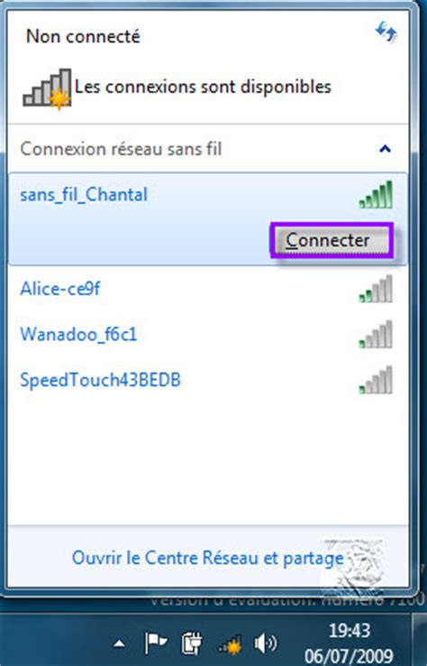 connecter un pc de bureau en wifi configurer un réseau wifi sous windows 7 windows 10