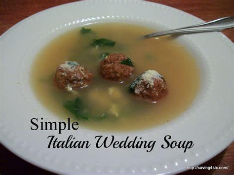 Simple Italian Wedding Soup