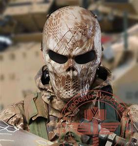 Nomad Ghost Tactical Masks Military WarGame Paintball ...