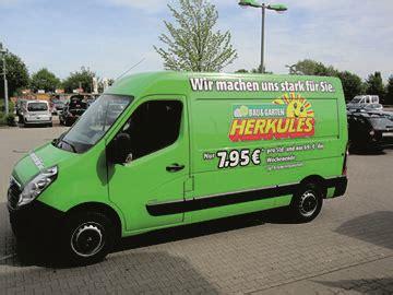 Garten Mieten Nordhausen mietger 228 t transporter herkules bau garten markt