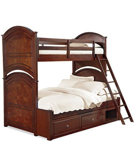Irvine Kids Twin Over Full Bunk Bed  Furniture Macy's