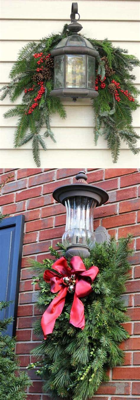 gorgeous outdoor christmas decorations   ideas tutorials  piece  rainbow