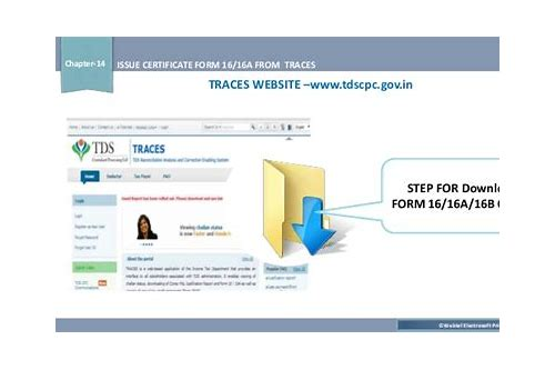Downloading form-16/16a from traces site :: rilanhyaprin