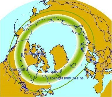 northern lights viewing map northern lights map arctic kingdom