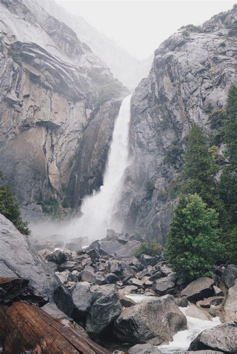 Lower Yosemite Falls Trail Ascend Style