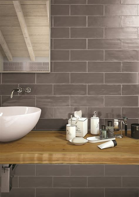 brick style tiles tiling walls in brick tile pattern is easy with the new