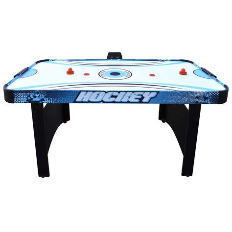 enforcer  ft air hockey table pool warehouse