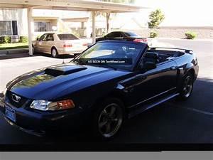2002 Ford Mustang Gt Convertible 2 - Door 4. 6l