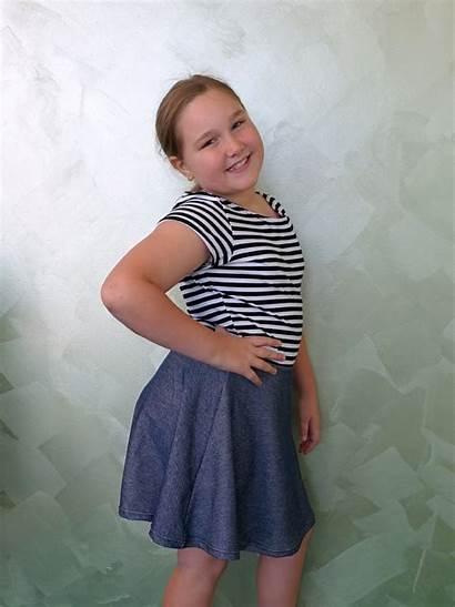 Skater Dress Pattern Tween Sewing Cool Sew