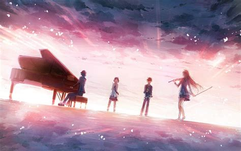 shigatsu wa kimi  uso wallpapers wallpaper cave