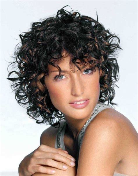 short curly hairstyles  female   kitchens