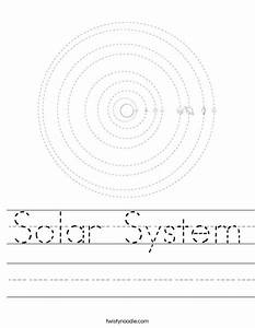 Solar System Activity Worksheet - Pics about space
