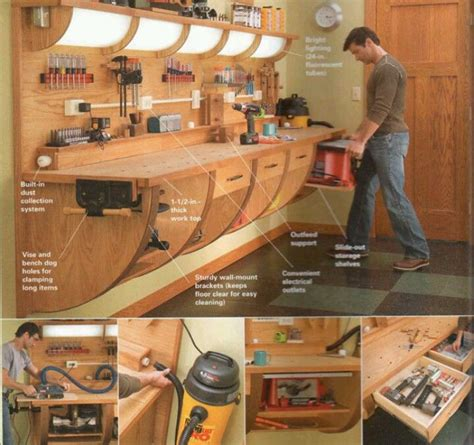 garage workbench plans woodworking projects plans
