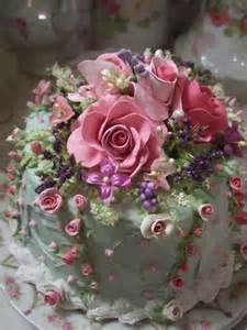 Beautiful Birthday Cake with Roses