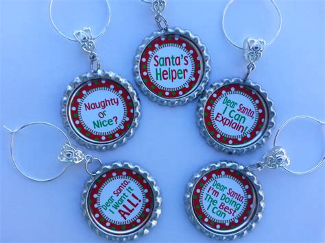 Holiday Wine Charms Gift Sets And More On Storenvy