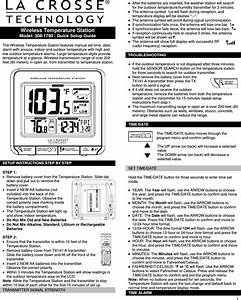 La Crosse Technology Tx141 Out Thermometer User
