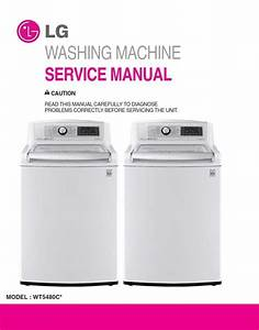 Lg Wt5480cw Washing Machine Service Manual And Repair